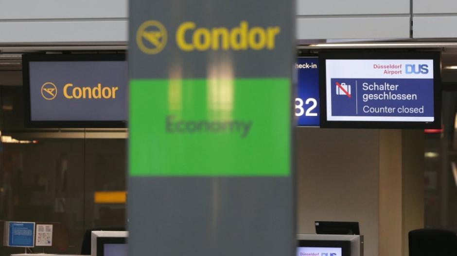 Insolvenz Thomas Cook - Deutsche Thomas-Cook-Tochter Condor