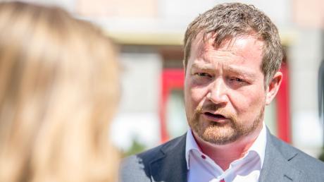 Bayerns SPD-Generalsekretär Uli Grötsch wird die Genossen aus dem Freistaat in die Bundestagswahl führen.