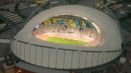 Im Khalifa International Stadium in Doha findet aktuell die Leichtathletik-Weltmeisterschaft statt.