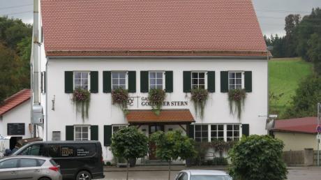 Der Gasthof Goldener Stern in Rohrbach.