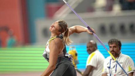 Christin Hussong verpasste knapp eine Medaille.