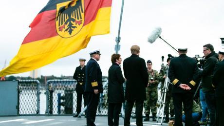 Von der Feierlichkeit zum Tag der Deutschen Einheit, der 2019 in Schleswig-Holstein begangen worden ist.