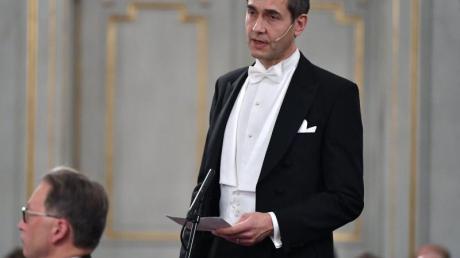 Mats Malm wird die Literaturnobelpreisträger verkünden. Foto: Henrik Montgomery/TT NEWS AGENCY/AP/dpa