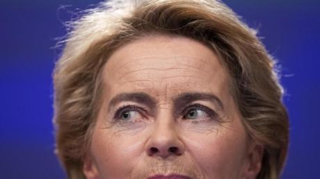 Ursula von der Leyen (CDU) ist designierte EU-Kommissionspräsidentin. Foto: Francisco Seco/AP/dpa