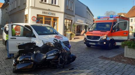 Unfall Friedberg Ludwigstraße 16.10.2019