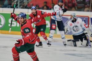 Bílí Tygri Liberec vs  Augsburger Panther