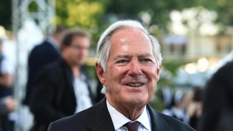 Der bekannte Unternehmens- und Politikberater Roland Berger bei einer Veranstaltung vor der Corona-Pandemie.