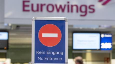 Der Ufo-Warnstreik bei mehreren Lufthansa-Töchtern soll bis Mitternacht andauern - die Auswirkungen in München halten sich bislang allerdings in Grenzen.