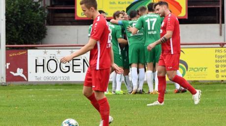 WG: Bilder TSV Rain - VfB Eichstätt