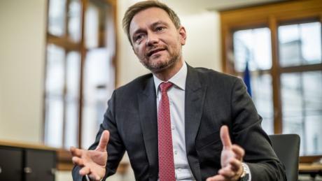 """FDP-Chef Christian Lindner: """" Ich sehe die Union nicht in der Mitte."""""""