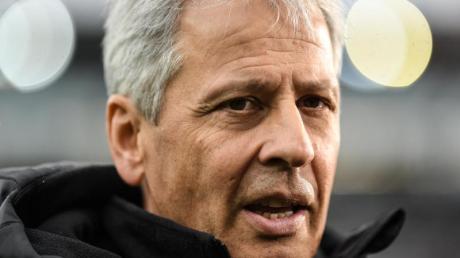 Nicht gerade angetan von der BVB-Trainerdiskussion: Lucien Favre. Foto: Patrick Seeger/dpa