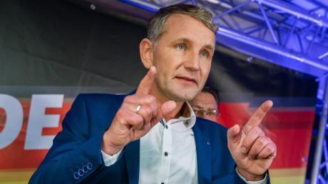 Björn Höcke, Spitzenkandidat der AfD bei der Landtagswahl in Thüringen, würde eine Minderheitsregierung aus CDU und FDP tolerieren.