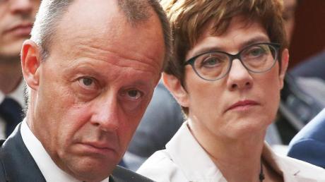 Friedrich Merz, Vizepräsident des CDU-Wirtschaftsrates, nahm CDU-Chefin Annegret Kramp-Karrenbauer von seiner harschen Kritik aus.