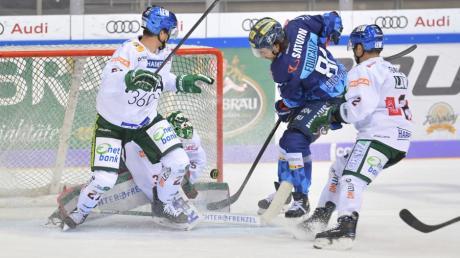 Der ERC Ingolstadt hat auch das zweite Panther-Duell in dieser Saison gegen Augsburg zu seinen Gunsten entschieden.