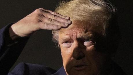 US-Präsident Donald Trump soll sich im Wahlkampf 2016 für E-Mails der Demokraten imBesitz vonWikileaks interessiert haben.