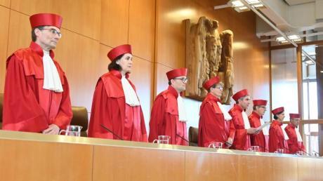 Bundesverfassungsgericht in Karlsruhe: Hartz-IV-Sanktionen teilweise verfassungswidrig. Foto: Uli Deck/dpa