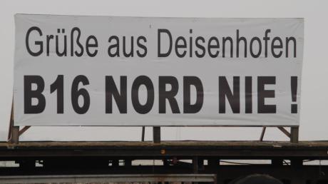 Bürger in Deisenhofen machen sich Sorgen wegen einer möglichen B16-Trasse.