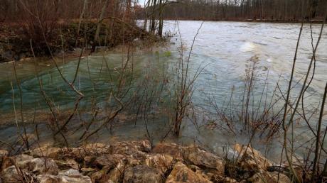 Hochwasser in Dillingen
