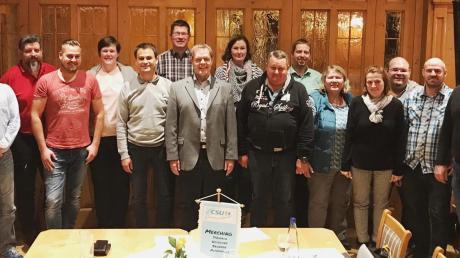 Mit einem starken Team tritt die CSU Merching zu den Wahlen an.