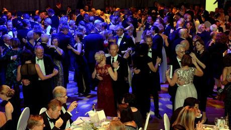 Tanzend durch eine wunderbare Nacht: 3000 Gäste feierten beim Augsburger Presseball 2019.
