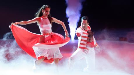 Let's Dance auf Tour: Samstagabend feierte die Tanzshow Premiere in der Dortmunder Westfalenhalle. Oliver Pocher begeisterte mit seinen Späßen mit Tänzerin Christina Luft das Publikum.