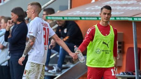 Bundesliga, Fußball, Spieltag 30, FC Augsburg, FCA, VfB Stuttgart, Saison 2018 / 2019,