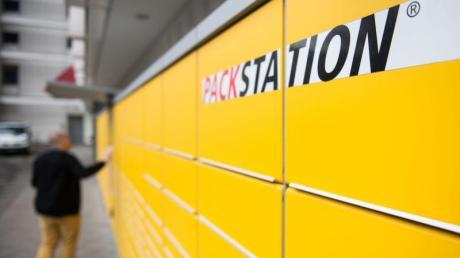 Eine solche DHL-Packstation soll am Lidl in Krumbach entstehen.