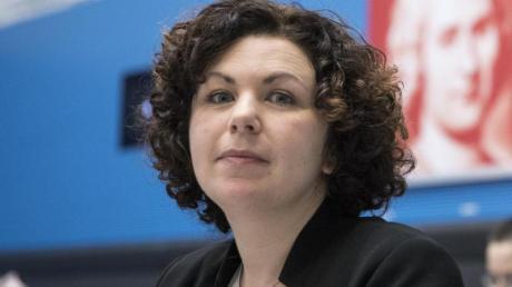 Die Rechtsanwältin Amira Mohamed Ali sitzt erst seit 2017 für die Linke im Bundestag. Nun ist sie eine der beiden Fraktionsvorsitzenden.