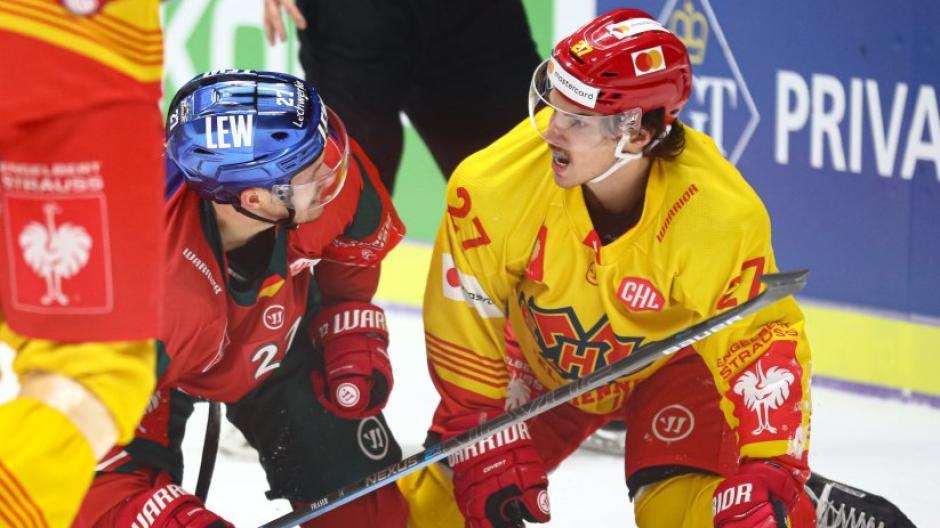 Eishockey CHL-Achtelfinale Augsburger Panther - EHC Biel - Bienne