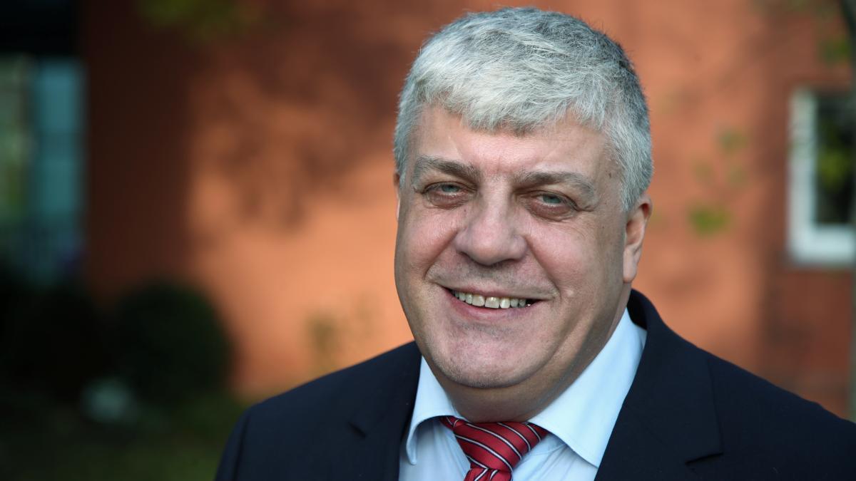 Karl-Martin Wöhner will Oberbürgermeister von Neu-Ulm werden - Augsburger Allgemeine