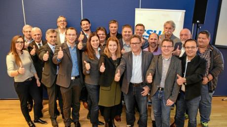 Nominierung Stadtratskandidaten CSU SMÜ