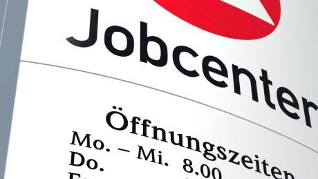 Arge Arbeitsamt Jobcenter Agentur für Arbeit Hinweisschild Arbeitsmarkt Feature