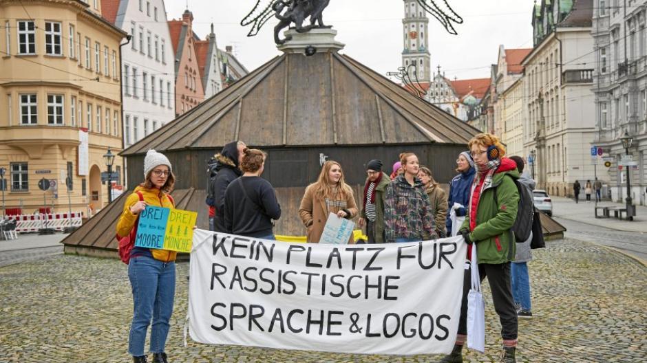 Demo, Demonstartion, Rassismus, Petitionsübergabe, Umbennung  Hotel Drei Mohren,
