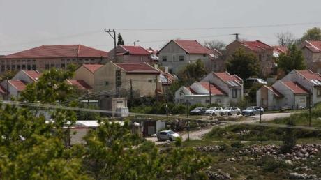 Die israelische Siedlung «Shifot Rahil» in der besetzten Westbank. Foto: Shadi Jarar'ah/APA Images via ZUMA Wire/dpa