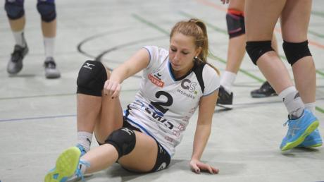 Nicht gerade optimal läuft es für Lisa Schnürer und die Drittliga-Volleyballerinnen der DJK Hochzoll.