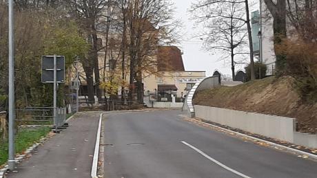 Die Friedberger Bahnhofstraße nach dem Umbau.