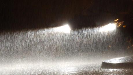 Die Gemeinde Baar denkt über einen Hochwasserschutz nach.