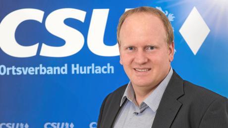 Andreas Glatz (CSU) möchte Bürgermeister in Hurlach werden.