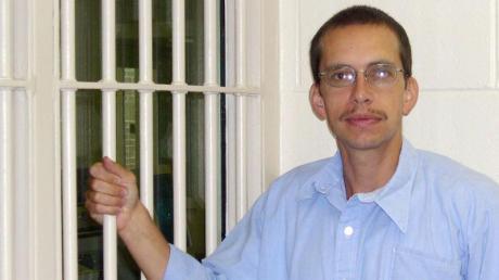 Jens Söring im Jahr 2003 in der Justizvollzugsanstalt Brunswick.