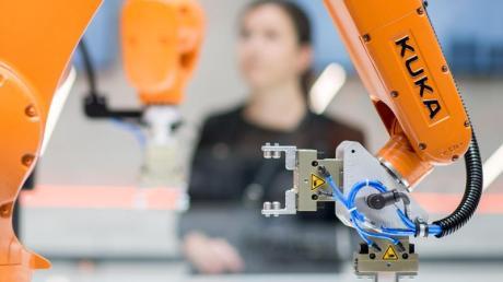 Der Roboterbauer Kuka hat seinen Stammsitz in Augsburg.