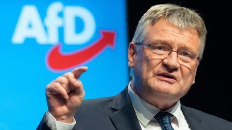Die AfD hat Jörg Meuthen als einen ihrer beiden Bundesvorsitzenden im Amt bestätigt.