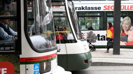 Im Bauausschuss wurde über eine Verlängerung der Tramlinie 1 in die Hammerschmiede diskutiert.