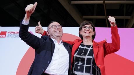 Norbert Walter-Borjans und Saskia Esken sind neue SPD-Vorsitzende - und stellen die Zukunft der Großen Koalition infrage.