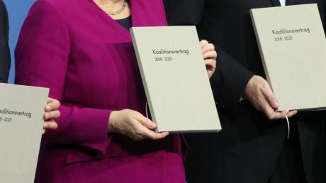 Den Koalitionsvertrag haben Union und SPD 2018 nach einem langen Ringen um eine Regierungsbildung geschlossen.