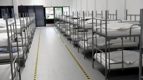 Im neuen Behördenzentrum in Lechhausen ist Platz für rund 180 Asylbewerber.