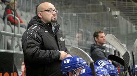 Nicht mehr Trainer der U20 des Augsburger EV: Niels Garbe, der erst im Sommer den Posten übernommen hatte.