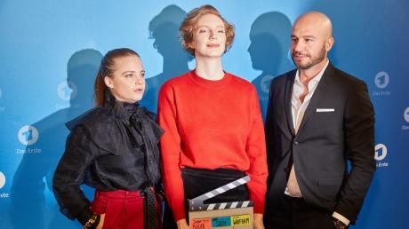 """Jasna Fritzi Bauer (links), Luise Wolfram und Dar Salim sind das neue Ermittler-Trio im Bremen-""""Tatort""""."""