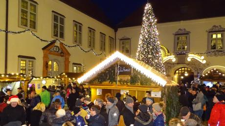 Das Ambiente auf dem Kipferlmarkt in Hofhegnenberg ist jedes Jahr ganz besonders.