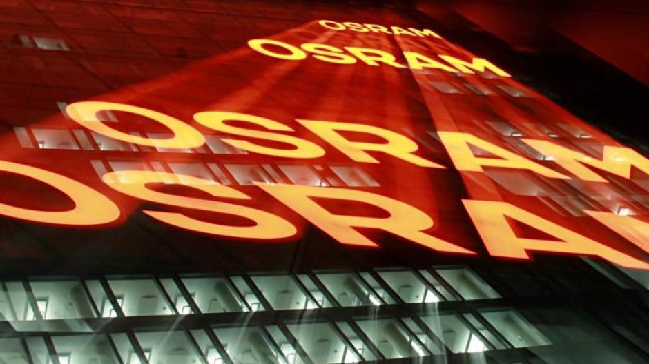 Die Zentrale der Firma Osram in München.