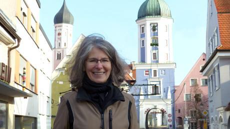 Eveline Kuhnert tritt für die Grünen in Burgau an.